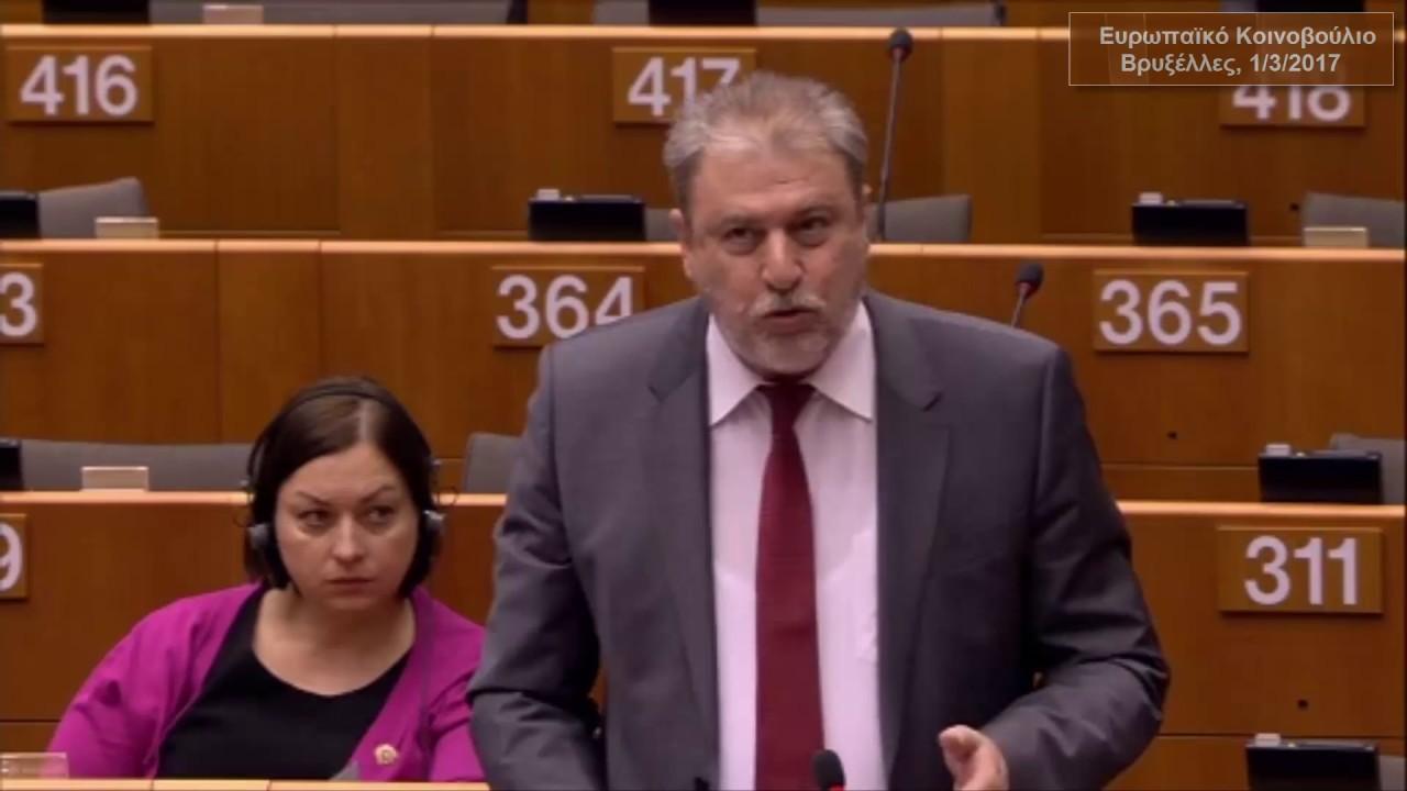Νότης Μαριάς στην Ευρωβουλή: Λευκή πετσέτα έριξε ο Γιούνκερ εγκαταλείποντας το σκάφος μετά την αποτυχημένη πολιτική του
